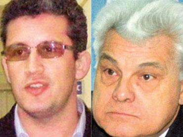 Virgil Pop (foto stanga), Koto Iosif (foto dreapta)