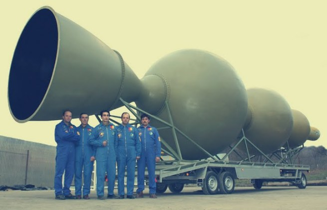 prima racheta romaneasca